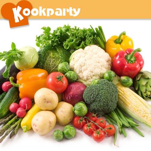Workshop vegetarisch koken met kookparty for Kookboek veganistisch