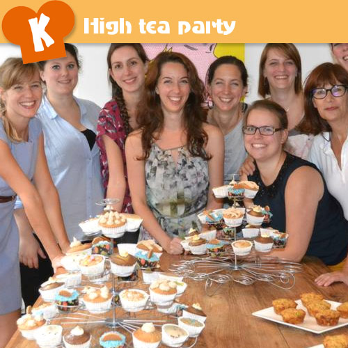 | High tea workshop