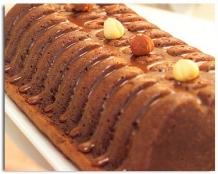 Cake van 2 soorten chocolade